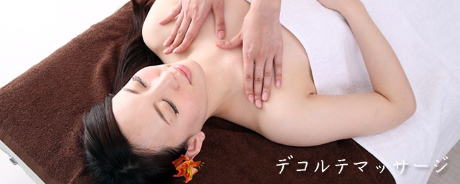 decollete-massage